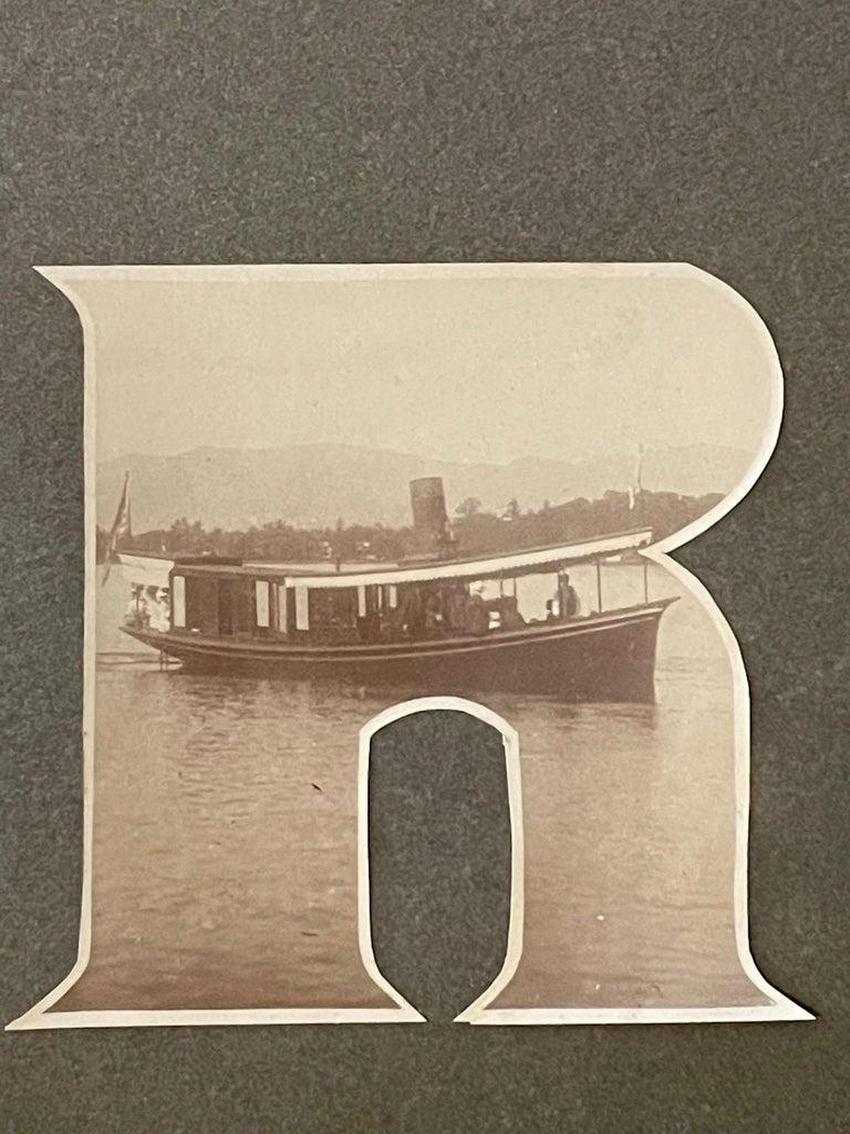 Lake George Vintage Photograph, circa 1910 For Sale 4