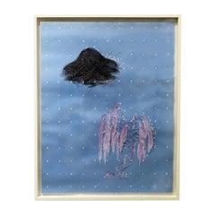 """""""Lake Hill"""" Paper-Cut by Wu Jian'an"""