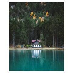 Lake House Dolomites by Christiaan Nies