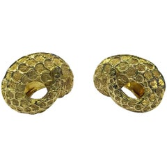 Lalaounis 18 Karat Earrings, Greece, circa 1990
