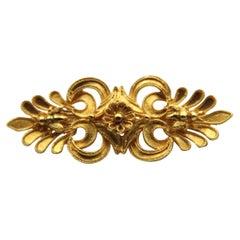 Lalaounis 18k Gold Brooch
