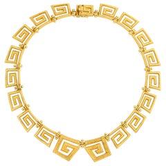 Lalaounis 18 Karat Greek Key Necklace