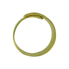 Lalaounis 22 Carat Yellow Gold Band Ring