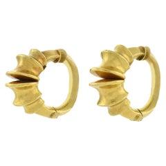 Lalaounis Estate Hoof Hoop Clip-On Earrings