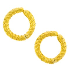 Lalaounis Gold Hoops