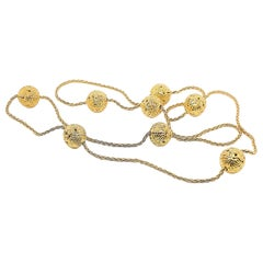 Lalaounis Gold Necklace