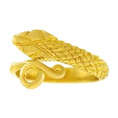 Lalaounis Gold Snake Ring