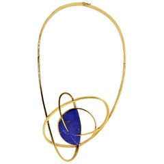 Lalaounis Gold Space Age Necklace