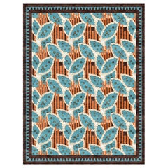 Lalibela - Multicolor Designer Hand Knotted Silk Rug