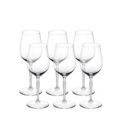 Lalique 100 Points Set of Six Universal Cognac/Wine Tasting Glasses in Crystal