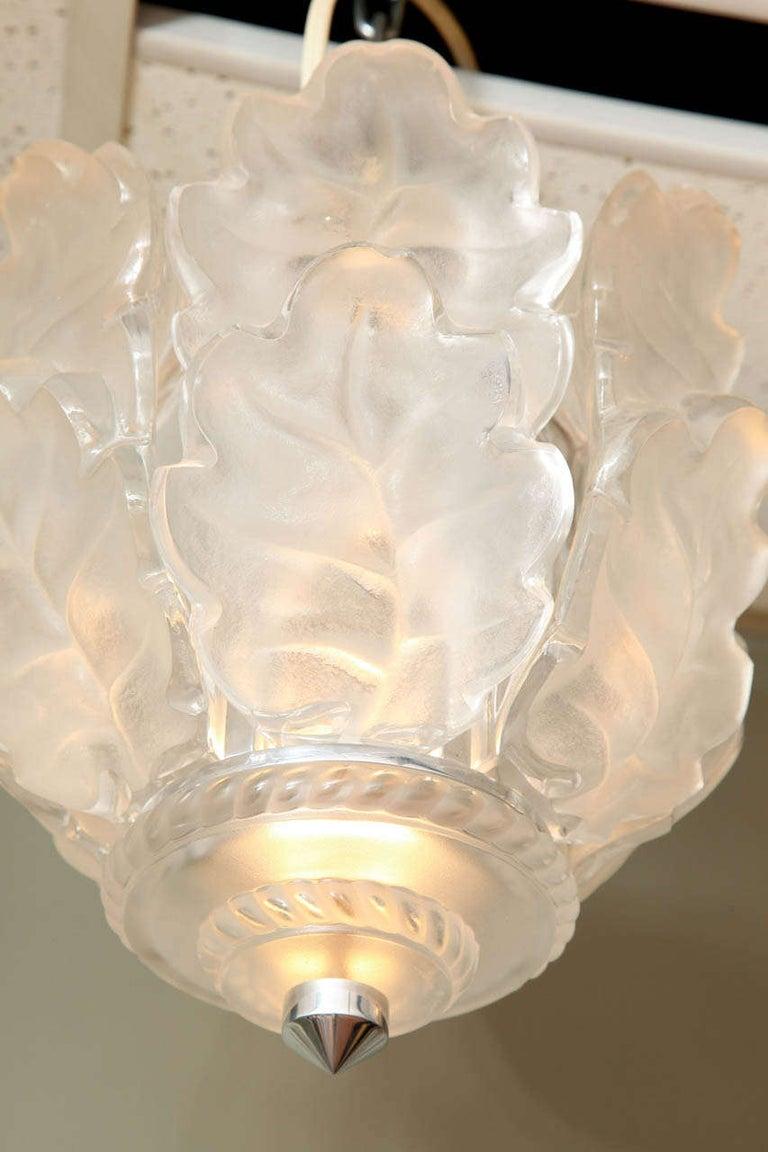 Art Deco Lalique Ceiling Fixture