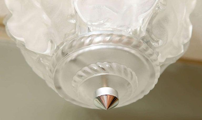 Lalique Ceiling Fixture