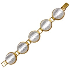 Lalique Crystal Bracelet