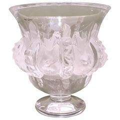 """Lalique Crystal """"Dampierre"""" Vase, France, Modern, 2017"""