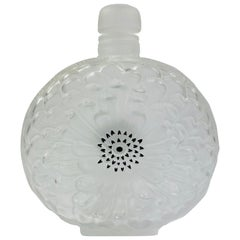Lalique France Dahlia Crystal Perfume Bottle No. 3