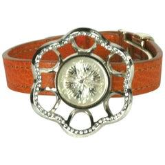 Lalique Flower Bracelet