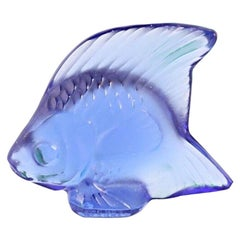 Lalique France, 1 Crystal Fish, Scalar 'Different Colours Available'