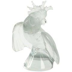 """Lalique France Cacatoes """"Ailes Déployées"""""""