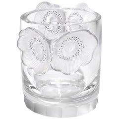 "Lalique France ""Constance"" Vase Wine Cooler 'Ice Bucket'"