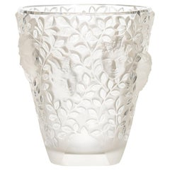 "Lalique France ""SILENES"" Marcilhac 10-923 Engraved Lalique France"