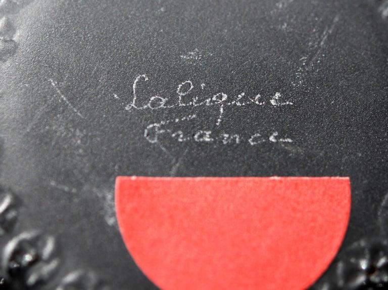Lalique Nemours Bowl, circa 1980 In Good Condition For Sale In Toronto, Ontario