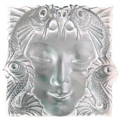 """Lalique Panel """"Masque de Femme"""""""