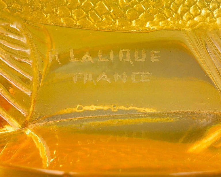 French Lalique Perche Automobile Mascot For Sale