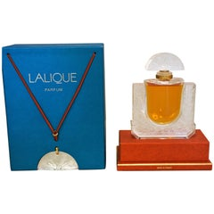 Lalique Perfume Bottle with Pendant