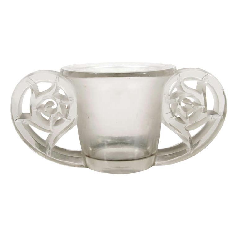 Lalique Pierrefonds Vase For Sale