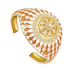 Soleil Bracelet Yellow Gold