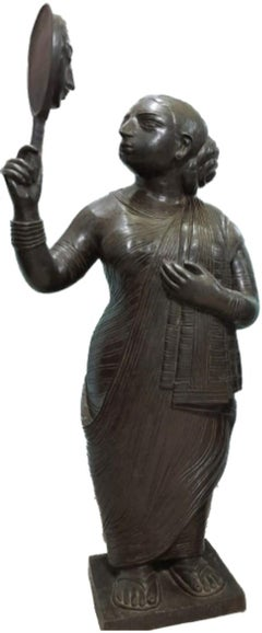 """Babuana, Bronze, Edition 3/5 by Modern Indian Artist """"In Stock"""""""
