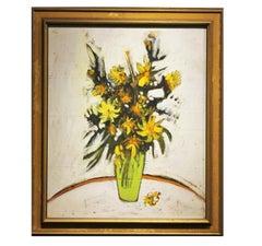 Impressionist Modern Floral Still Life