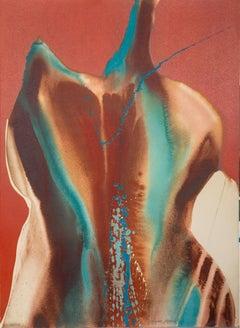 Spirit Coasas VIII, Colorful Abstract by Lamar Briggs