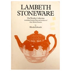 Lambeth Stoneware; The Woolley Collection, products of British Potteries
