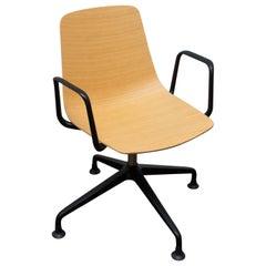 Lamina Swivel Chair by Hannes Wettstein for Dietiker