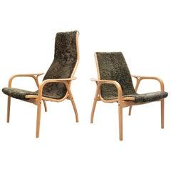 Lamino Chairs Design Yngve Ekström, 1960s