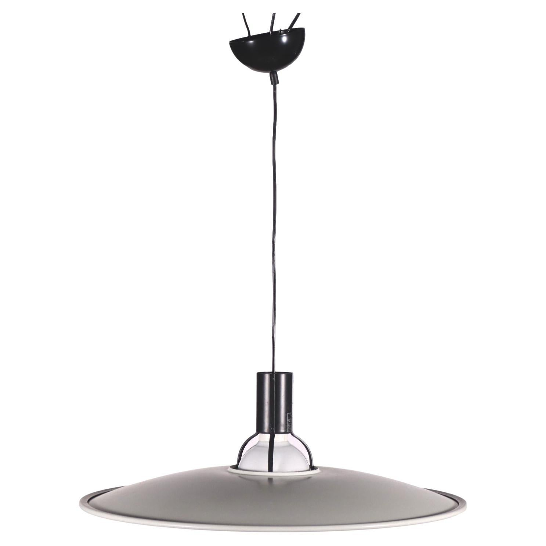 Lamp 2133 Gino Sarfatti Arteluce Enamelled Metal Milan, Italy, 1980s