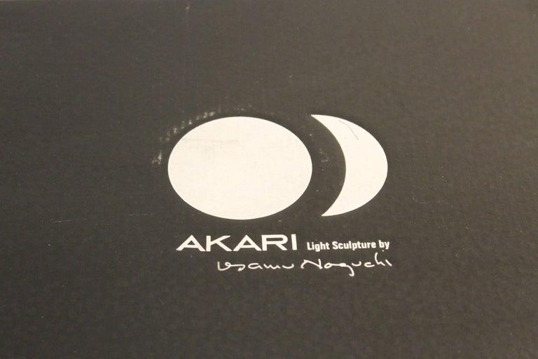 American Akari 1A Lamp by Isamu Noguchi For Sale