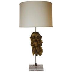 Lamp Designed with Antique Portuguese Architectural Element