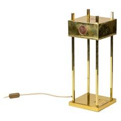 Lamp in Gilt Brass and Copper, Olympic Games of 1936