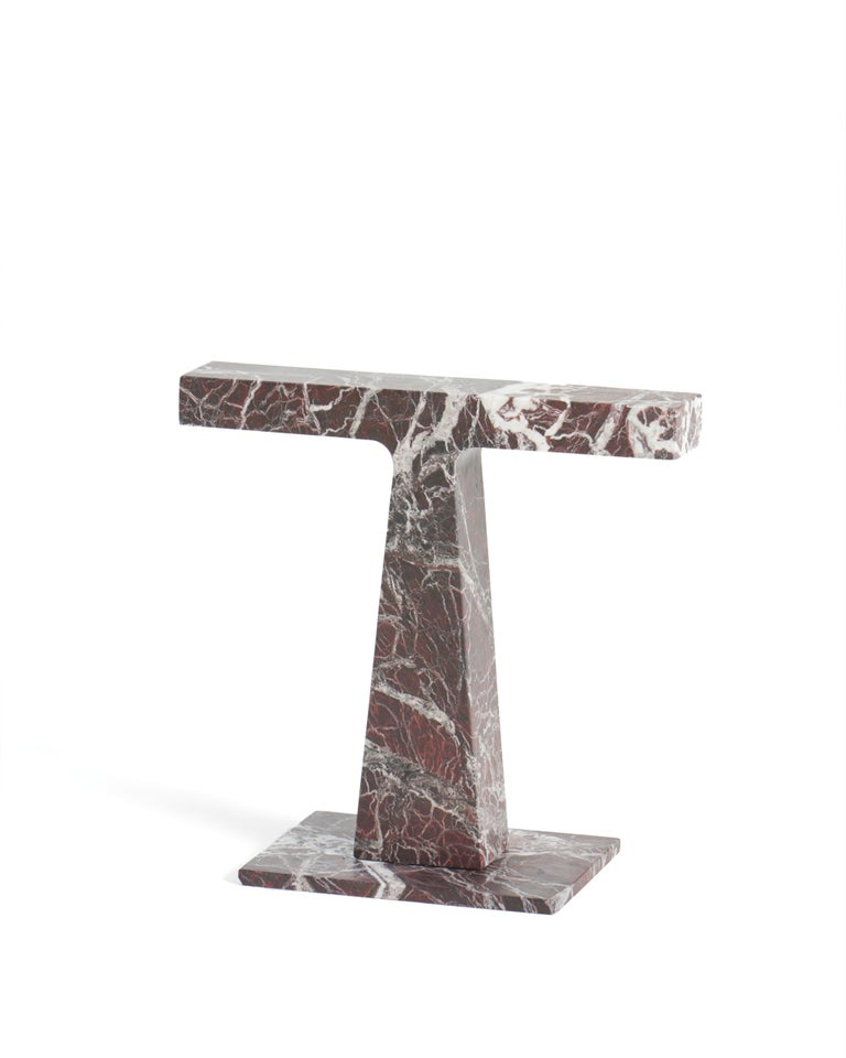 Lamp in Green Guatemala Marble, by Niko Koronis, Made in Italy For Sale 1