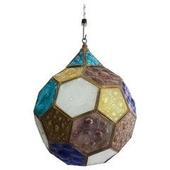 Lamp in Hexagonal Shape by Feders