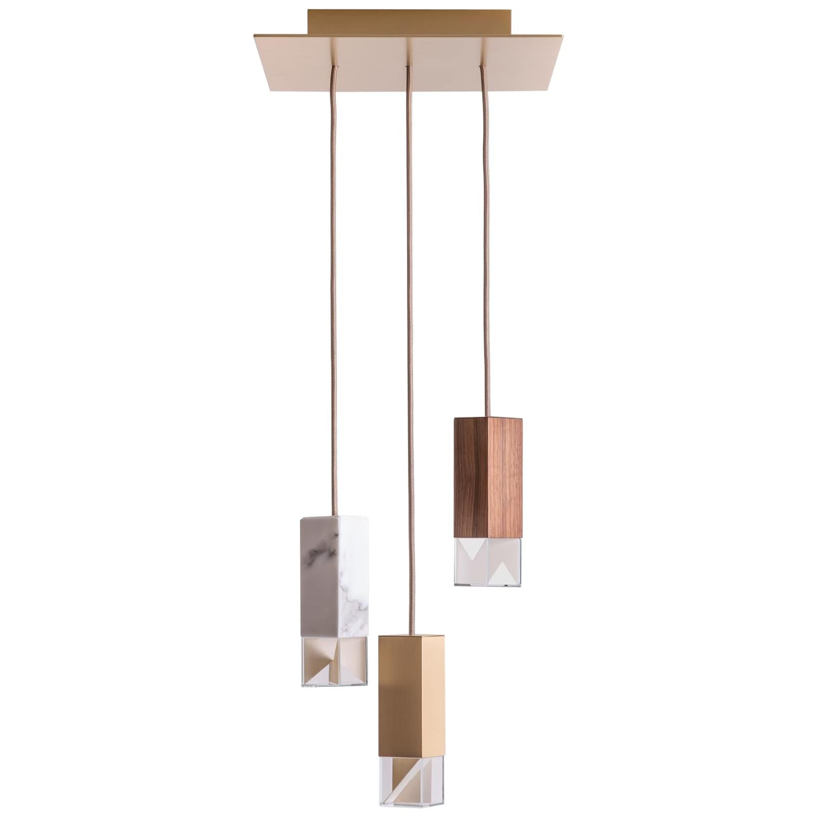 Lamp One Collection Chandelier by Formaminima
