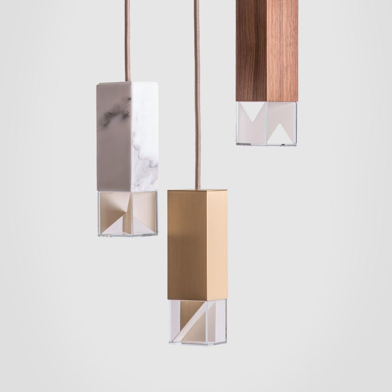 Contemporary Lamp/One Collection Chandelier For Sale