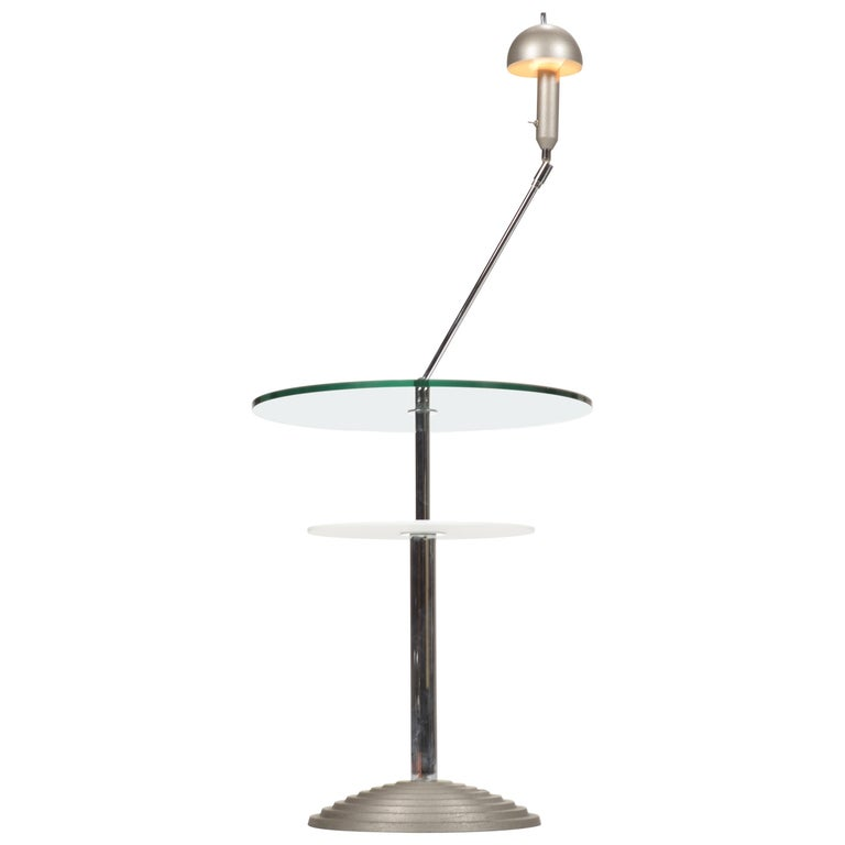 Lamp Table by Daniela Puppa and Franco Raggi for Fontana Arte, 1988 For Sale
