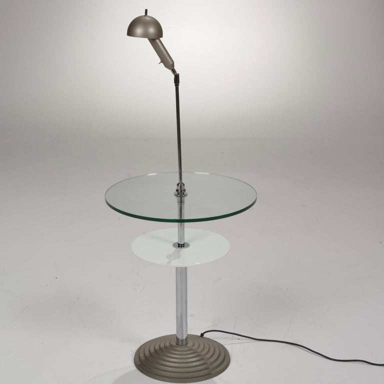 Lamp Table by Daniela Puppa and Franco Raggi for Fontana Arte, 1988 For Sale 4