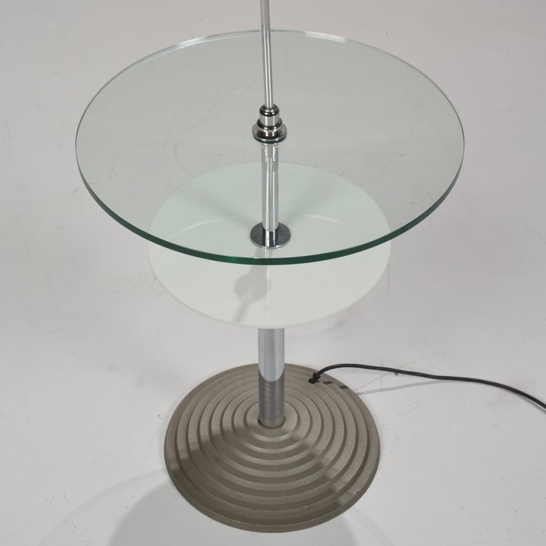 Lamp Table by Daniela Puppa and Franco Raggi for Fontana Arte, 1988 For Sale 10