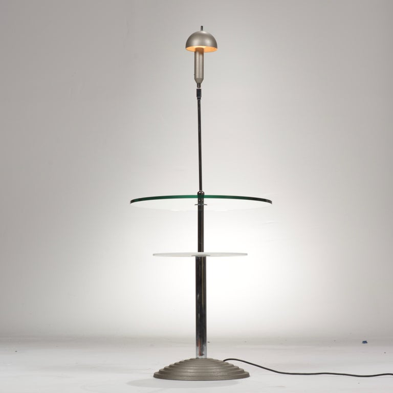 Mid-Century Modern Lamp Table by Daniela Puppa and Franco Raggi for Fontana Arte, 1988 For Sale