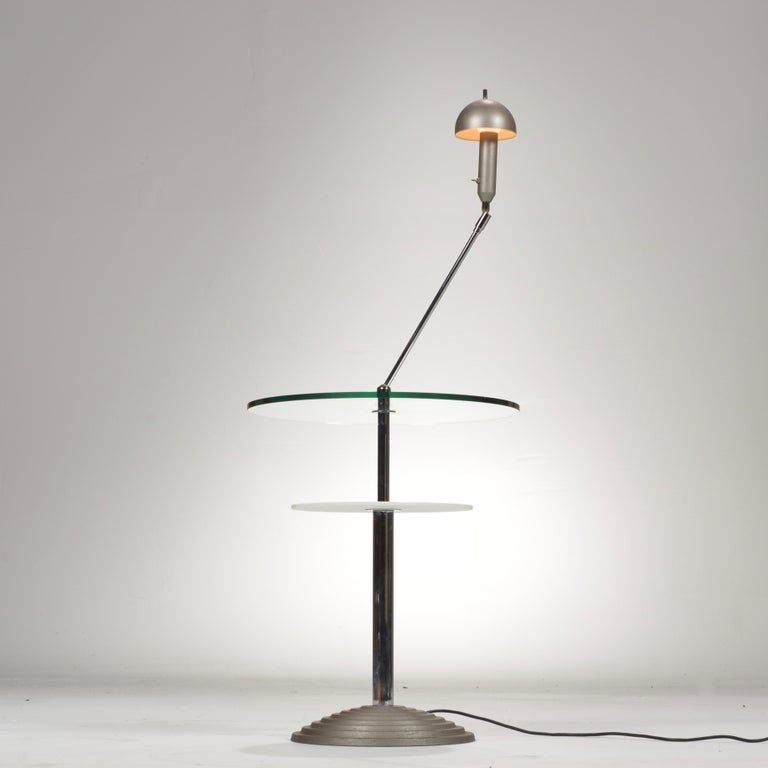 Lamp Table by Daniela Puppa and Franco Raggi for Fontana Arte, 1988 In Excellent Condition For Sale In Los Angeles, CA