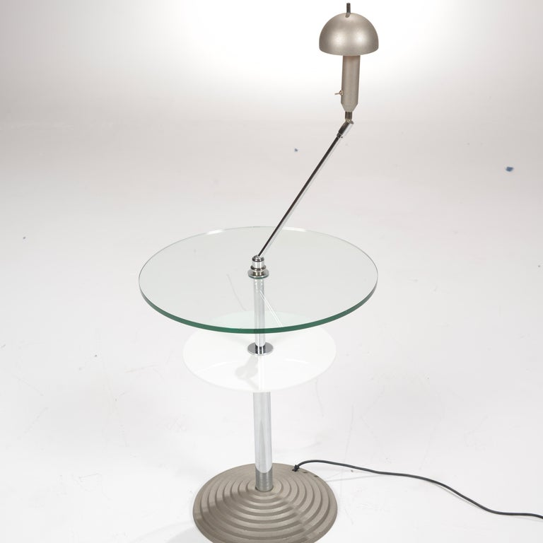 Late 20th Century Lamp Table by Daniela Puppa and Franco Raggi for Fontana Arte, 1988 For Sale